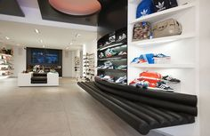 Concept Interior Design, sport shoes P'leisures Tilburg The Netherlands