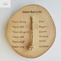 Weerbericht op hout met touwtje Custom Wood Furniture, Diy And Crafts, Crafts For Kids, Pallet Painting, Little Gifts, Etsy Handmade, Decoration, Life Hacks, Cool Stuff