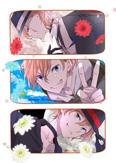 Chuuya's birthday (4.29) Bungou Stray Dogs Wallpaper, Dog Wallpaper, Stray Dogs Anime, Bongou Stray Dogs, Tsundere, Bungou Stray Dogs Characters, Anime Characters, Anime Love, Anime Guys