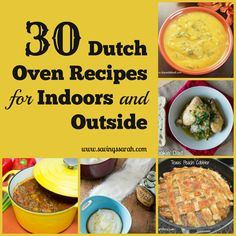 Dutch Ovens are workhorses both indoors and out. Check out this tasty collection of 30 Dutch Oven Recipes sure to impress your family and friends.