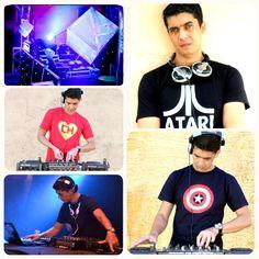 DJ Wesley Botelho aproveitando um bom som e todas as camisetas que pediu na UseCamisetas ;)