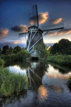 Ferreira, Rafael - Windmill at Amstelpark, Amsterdam, Netherlands