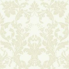 York Wallcoverings 56 sq. ft. Acanthus Damask Wallpaper-DC1311 at The Home Depot
