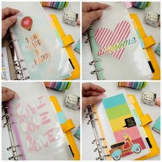 Happiness is Scrappy: Planners⎪Vellum Divider for My Sunshine