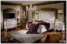 Спальни Италии на заказ.: интерьер, товары, квартира, дом, спальня, ар-деко, 50 - 80 м2, ар-деко, кровать, бежевый, коричневый, бронзовый #interiordesign #products&services #apartment #house #bedroom #dormitory #bedchamber #dorm #roost #artdeco #50_80m2 #artdeco #bed #bedstead #doss #kip #beige #brown arXip.com