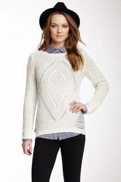 Speckled Sweater by Olive & Oak on @HauteLook