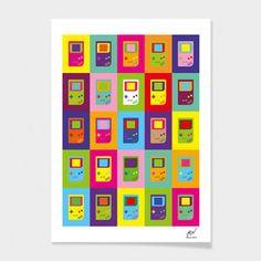 Gameboy Print 20x30
