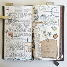 Travel Journal Inspiration #journaling #journal #traveljournal