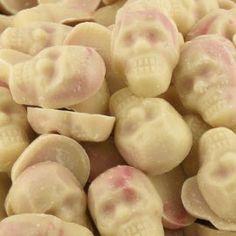 Sugar Skull wedding favors.
