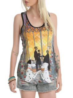 Disney One Hundred And One Dalmatians Forever Girls Tank Top. FINALLY PEOPLE UNDERSTAND HOW LOVELY THIS COUPLE IS!!
