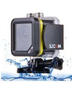 SJCAM M10 Cube Mini Waterproof Action Sports Camera with 170-degree Wide-angle Lens, 1.5 Inch LTPS Screen, Support Full HD 1080P(Yellow)