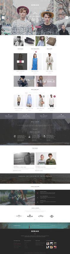 SEBIAN - Multi Purpose eCommerce PSD Template - PSD Templates | ThemeForest