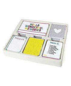 Confetti Core Scrapbook Kit by Project Life #zulily #zulilyfinds