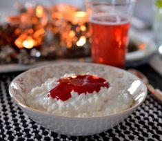 Verdens beste hjemmelaget riskrem med rød saus - Franciskas Vakre Verden