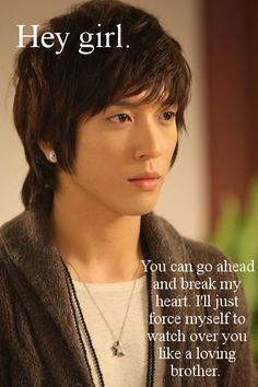 Jung Yong Hwa as Shin Woo : You Are Beautiful Jung Yong Hwa, Jung Yoon, Korean Star, Korean Men, Baek Seung Jo, Handsome Korean Actors, Kang Min Hyuk, Cn Blue, Kpop