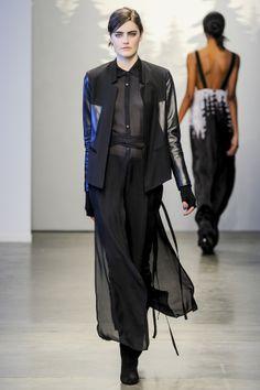 Tess Giberson Autumn Winter 2014/15 ready to wear. New York Fashion Week