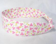 Shabby Chic Headband Fabric Headband  by NewEnglandQuilter on Etsy, $8.00