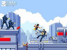 mirrorsedge Como seriam os games atuais em versões Java para celular