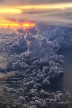 PURE / an amazing light above the clouds