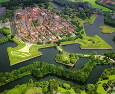 Fortified town of Naarden, the Netherlands