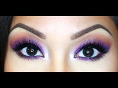 Urban Decay Electric Palette Tutorial Electric Palette Looks, Urban Decay Electric Palette, Carnival Makeup, Eye Tutorial, Urban Decay Makeup, Makeup Looks, Makeup Style, Eyeshadow Looks, Colorful Makeup