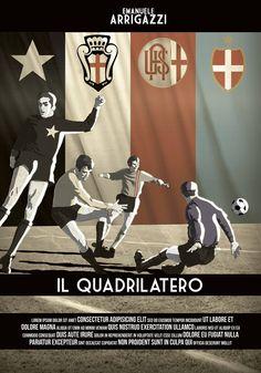 """8° Classificato Contest """"Una Locandina per il Quadrilatero""""  Artwork by Alex Galbero."""