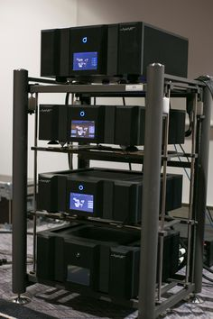 Audionec electronic stack...