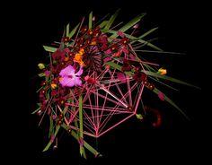 Blomster billede: floral umbrella Blomsterdesigner Annette von Einem