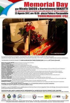 LAssociazione Tedeschi aderisce al Memorial Day Sacco e Vanzetti