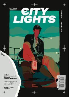 Baekhyun Fanart, Kpop Fanart, Exo Stickers, Kpop Posters, Exo Fan Art, Kpop Exo, Graphic Design Posters, City Lights, Aesthetic Art