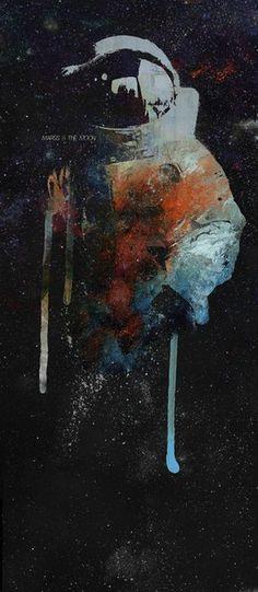 Cowboy Bebop Cosmonaut Art Print by Maʁϟ Wallpaper Space, Dark Wallpaper, Apple Wallpaper, Space Cowboys, Cowboy Bebop, Aesthetic Wallpapers, Astronomy, Science Fiction, Concept Art