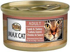 Nutro Max Adult Lamb & Turkey Cutlets Entree Chunks in Sauce