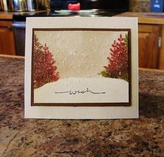 QFTD239 - Coral Trees by nwilliams6 - Cards and Paper Crafts at Splitcoaststampers