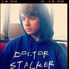 Christian Beadles doctor stalker ....I need this sweatshirt.