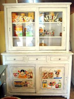 Cr ation de miss t r benthine craquant j 39 aime 0 pinterest - Restauration meubles peints ...
