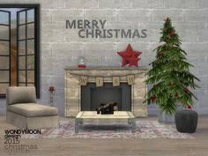 The Sims Resource: Christmas 2015 by wondymoon • Sims 4 Downloads