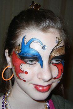 Jester type makeup. No instructions just photo.  sc 1 st  Pinterest & Diamond Jester costume. #plocomiBw | iBu0026W | Pinterest | Jester ...