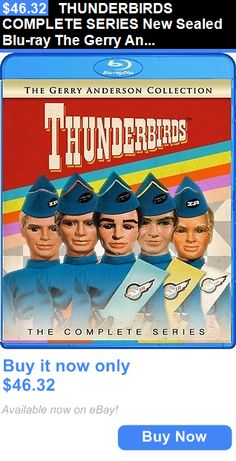 cds dvds vhs: Thunderbirds Complete Series New Sealed Blu-Ray The Gerry Anderson Collection BUY IT NOW ONLY: $46.32