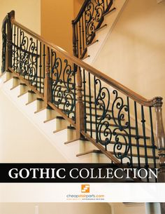 The Gothic Series iron balusters have a symmetrical hammering on all sides that gives it a very Old World look. This style of hammering could have been seen in some French Castles. The Gothic style hammering is one of the more constant styles of hammering so you will never have to worry about two balusters looking different.  See the whole collection on our site: https://cheapstairparts.com/products/iron-balusters/gothic-hammered/  #StairRemodel #InteriorDesign #Stairs #StairParts #Staircase