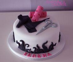 Hairdressers cake