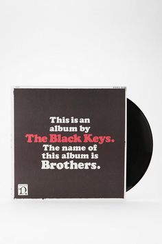 UrbanOutfitters The Black Keys - Brothers 2xLP and CD. $29.98