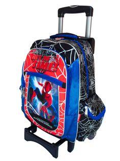Mochila Acu Spiderman 88114 Ng - $ 743.60