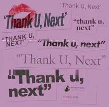 next Song Lyrics Blanket Details about  /thank u