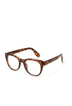Animal Print Square Readers - Accessories - 1000060867 - Forever 21 EU
