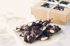 Chocolate-Almond Bark Recipe