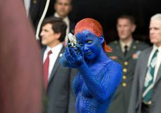 Pin for Later: 450 Pop Culture Halloween Costume Ideas Mystique From X-Men: Days of Future Past