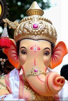 Ganesh Images, Ganesha Pictures, Ganesha Painting, Lord Shiva Painting, Shri Ganesh, Lord Ganesha, Ganesh Chaturthi Images, Ganesh Idol, Swami Samarth