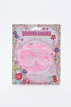Straw Drinking Glasses