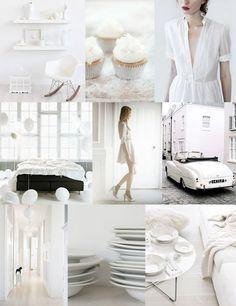 White on White Wedding