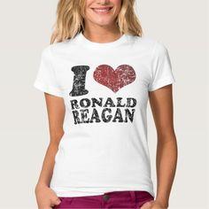 I love Ronald Reagan T Shirt, Hoodie Sweatshirt